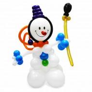 Снеговик - Хоккеист