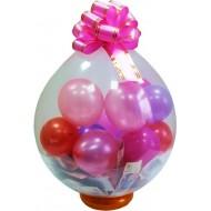 Упаковка подарка в воздушный шар