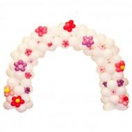 Белая арка с Цветами