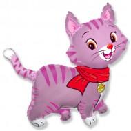 Котенок в шарфе