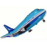 Самолёт синий