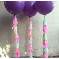 Воздушный шар с гирляндой Tassel