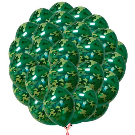 Фото камуфляжных шаров